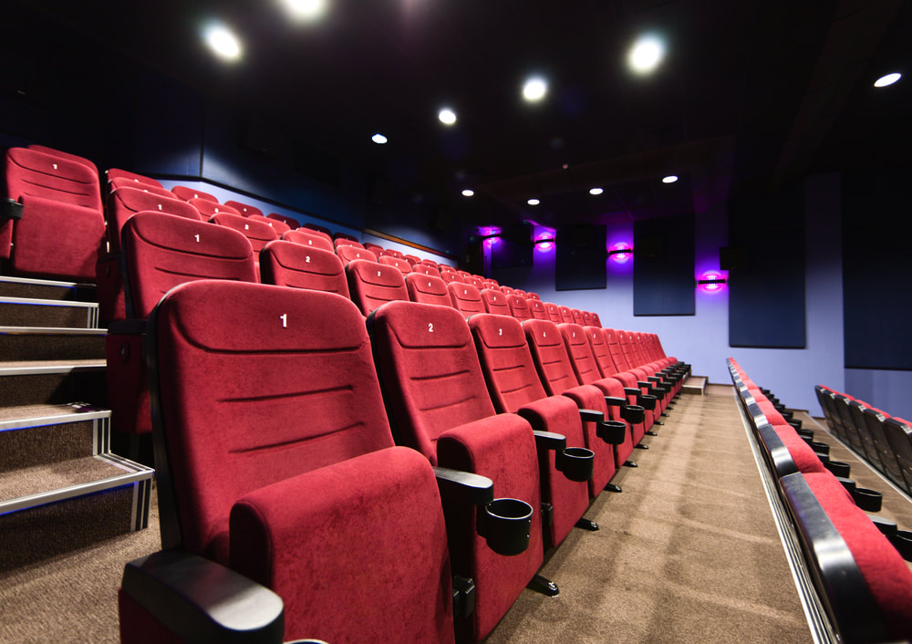 Professional cleaning company for movie theaters